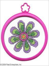 bucilla my 1st stitch flower beginner cross stitch kit 45444