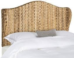 nadine natural winged headboard headboards furniture by safavieh