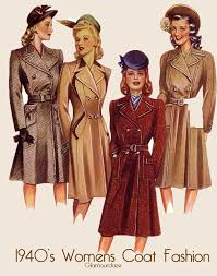 women s outerwear 1940s womens fashion how to look the complete 1940 s woman hair