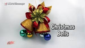 how to make christmas bells from waste bottles diy christmas