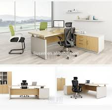 Office Desk Supply Factory Wholesale Price Luxury Standard Office Desk Dimensions