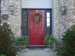 front door painted red basic rules front door paint u2013 design
