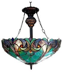 Stained Glass Light Fixtures Dining Room Light Fixture Dining Room Style Stained Ceiling Hanging