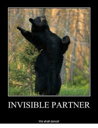 invisible partner we shall dance dancing meme on me me