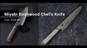 expensive kitchen knives most expensive kitchen knives