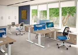 Sit Stand Office Desk by Desks Idea Sit U0026stand Quadrifoglio Office Furniture
