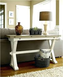 Decorating A Sofa Table The Table Table With Stools Sofa Table