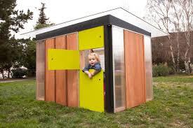 modern outdoor playhouse backyard build beautiful shocking