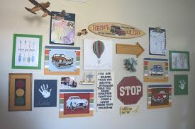 boy bedroom gallery wall some diy projects and a giveaway u2022 our