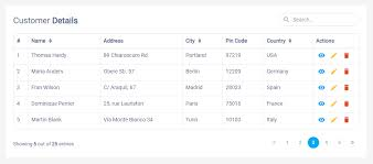 Bootstrap Data Table Bootstrap Table Examples Live Demos U0026 Codes Tutorial Republic