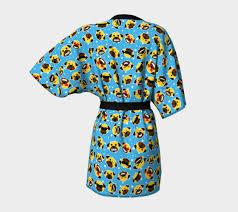 emoji robe pug emoji emoticon kimono robe kimono robe by pugnacious gifts