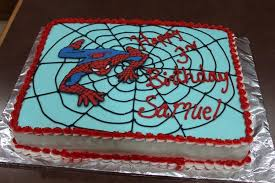 spiderman sheet cake cakecentral com