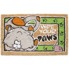 Coir Doormat Wipe Your Paws Buy Wipe Your Paws From Bed Bath U0026 Beyond