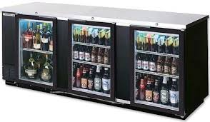 Beverage Air BB94G1B Back Bar Storage Cabinet with Glass Doors