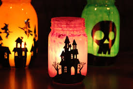 Mason Jar Halloween Lantern These Diy Mason Jar Luminaries Are Perfect For Halloween Simplemost