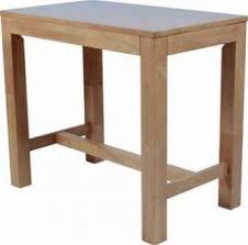 wooden high bar table timber high bar table base021 bench bar creative furniture