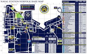 Naval Base San Diego Map by Naval Station Norfolk Base Map