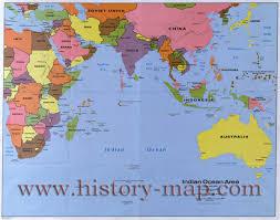 Indian Ocean Map Map Of Indian Ocean Map Of Indian Ocean Islands Countries