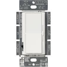 lutron diva c l dimmer for dimmable led halogen and incandescent