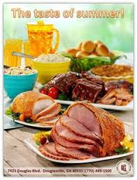 hosting a small get together our boneless ham is the dish