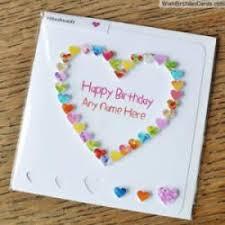 beautiful creative birthday card with name