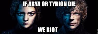 Tyrion Meme - arya and tyrion game of thrones know your meme