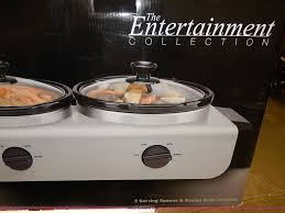 bella triple slow cooker buffet server item ad9003 sold