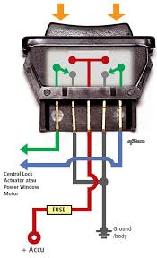 tips pasang switch power window central lock revised