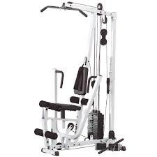 powerline bsg10x home gym short assembly 160 pound weight stack