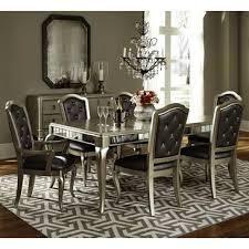 pulaski dining room furniture pulaski diva 7 piece rectangular leg dining room set