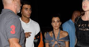 kourtney kardashian u0026 younes bendjima hit up cannes club for late