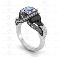 topaz engagement ring aphrodite 1 60ct mystic topaz gold engagement ring