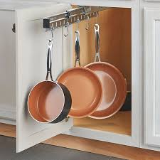 Pots And Pans Cabinet Rack Pull Out Pots And Pans Cabinet Organizer Improvements Catalog