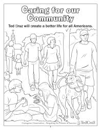 community coloring page with omeletta me