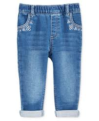 3doodler 2 0 first impressions first impressions embroidered pull on jeans baby girls 0 24