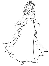 coloring pages women 10733