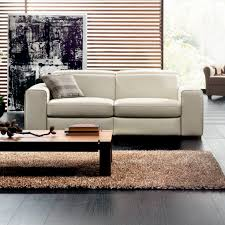 natuzzi canapé canapé contemporain en cuir en tissu 2 places clyde natuzzi