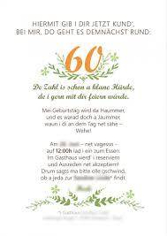 einladungskarten zum 60 geburtstag spruche u2013 cloudhash info
