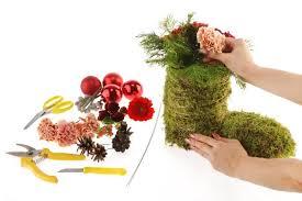 christmas arrangement ideas christmas gift idea moss decoration fresh flowers
