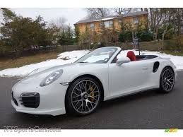 Porsche 911 White - 2014 porsche 911 turbo s cabriolet in white 173462