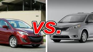 mazda5 vs toyota mazda mazda5 vs toyota carsdirect