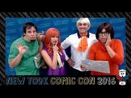 Scooby Doo Gang Halloween Costumes Scooby Doo Gang Comic Diy Costumes Nycc 2016