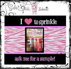 want a free sample of pink zebra sprinkles to see what it u0027s all