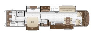 Floor Plan Image King Aire Floor Plan Options Newmar