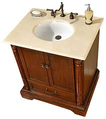 Traditional Bathroom Vanities by 32 Inch Traditional Single Sink Bathroom Vanity Traditional