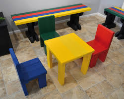 Recycled Plastic Furniture Recycled Plastic Benches For Children