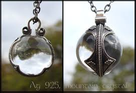 crystal ball pendant necklace images Gotland crystal ball pendant thevikingstore co uk jpg