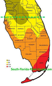 temperature map of florida plant zone map