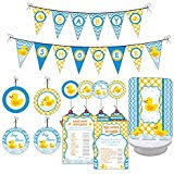 rubber duck baby shower it s a boy rubber ducky baby shower balloons