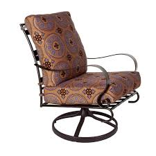 Wrought Iron Swivel Patio Chairs Unique Seating Ideas For Around The Fire Pit Artisan Crafted